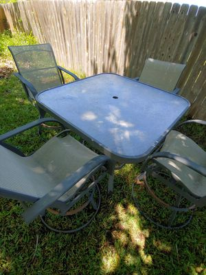 Outdoor patio furniture set for Sale in Round Rock, TX
