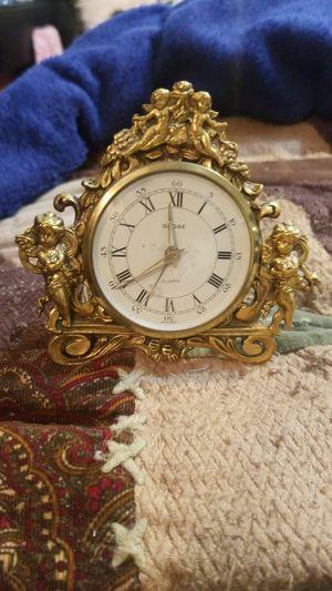 Antique Brass Alarm Clock for Sale in Powder Springs, GA
