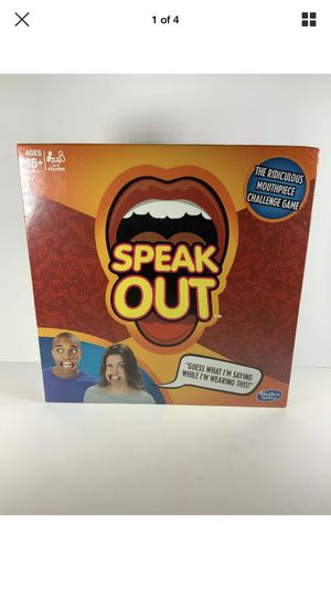 Speak our board game new for Sale in Oceanside, NY