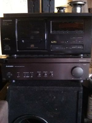 Mitsubishi receiver,pioneer 25,disc for Sale in Madera, CA