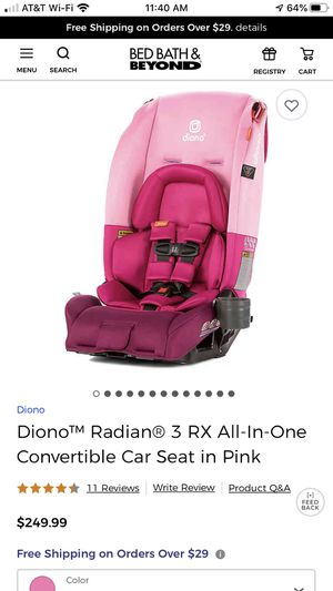 Diono Radian 3RX Car seat for Sale in Pico Rivera, CA