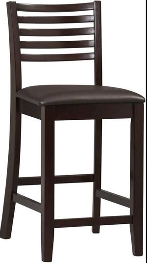 """24"""" Counter stool Espresso barstool - NEW for Sale in Taylor, MI"""