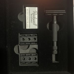 ROCKWELL 6S SAFETY RAZOR - JET BLACK PVD COATED for Sale in Ridgefield, WA