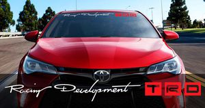 TOYOTA TRD DECAL STICKER for Sale in Riverside, CA