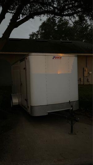 Utility trailer, Ramp door, side door 6x12 , single axel, enclosed trailer for Sale in Apopka, FL