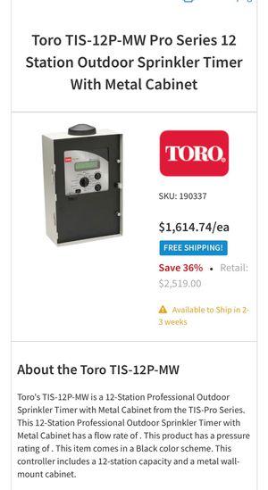 Sprinkler controller for Sale in Downey, CA