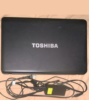 Clean Toshiba Satellite laptop 15.6 inches screen for Sale in Baltimore, MD