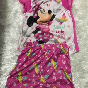 Minnie Mouse Pajamas Size 4t for Sale in Oklahoma City, OK