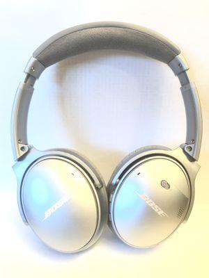 Bose QC 35 I Silver Quiet Comfort Wireless Headphones for Sale in Bellevue, WA