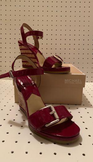 Michael Kors red sandal for Sale in Gig Harbor, WA