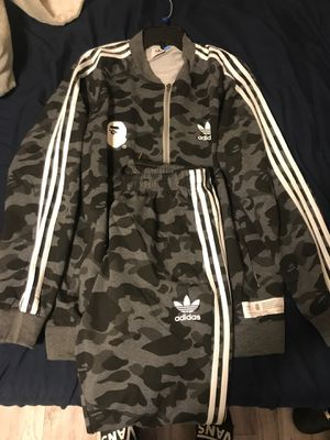 Adidas X bape outfit for Sale in TEMPLE TERR, FL
