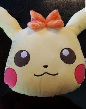 Pokemon Pikachu Face Pillow for Sale in Kirkland, WA