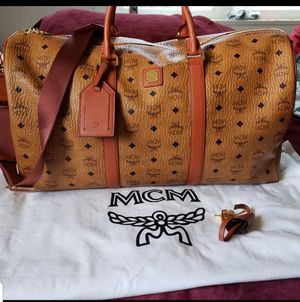 MCM larger weekender (Duffle) 100%AUTHENTIC for Sale in Pomona, CA