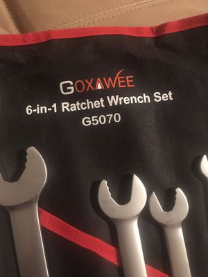 6 in 1 Ratchet Wrench Set New for Sale in Ocala, FL