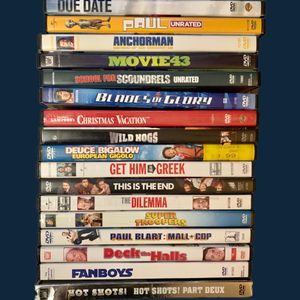 DVD Comedy Movie Lot of 18 for Sale in Westport, MA