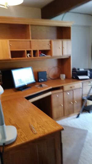 Computer center/office organizer for Sale in Portland, OR
