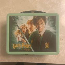 Harry Potter Chamber Of secrets Tin Lunch Box And Thermos for Sale in Fort Lauderdale,  FL