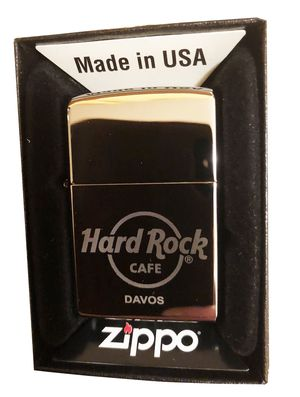 Hard Rock Cafe DAVOS Collectible ZIPPO Lighter for Sale in Round Lake Park, IL