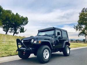 2001 Jeep Wrangler TJ for Sale in Riverside, CA