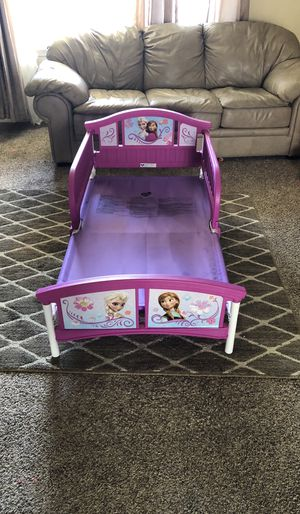 Delta toddler bed Elsa and Anna toddler bed for Sale in Pasco, WA