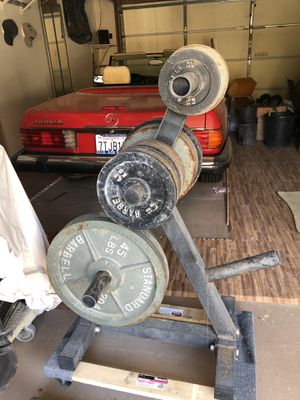 Olympic weight set for Sale in Tustin, CA