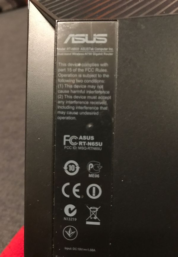 Asus Wireless router for Comcast Rt-n65u
