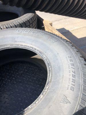 Snow tires 265-75-16 for Sale in Breckenridge, CO