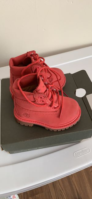 Pink Timberlands size 4 for Sale in Montgomery Village, MD