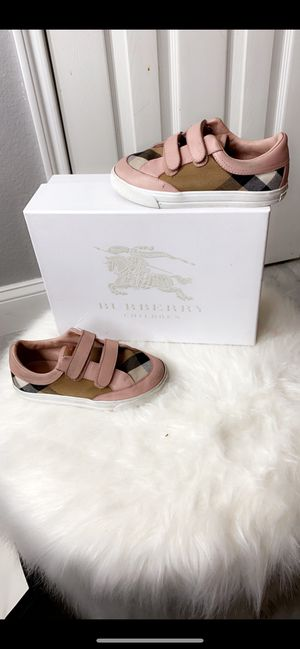 Burberry shoes for kids sz11.5 for Sale in Houston, TX