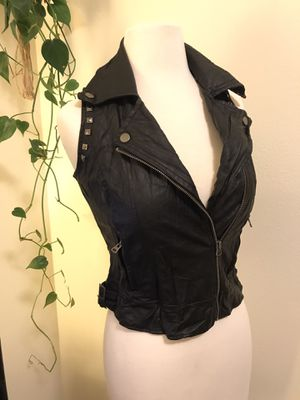 Leather vest for Sale in Bothell, WA
