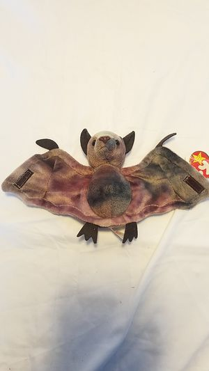 """1996 Rare """"batty"""" Beanie Baby for Sale in Indianapolis, IN"""