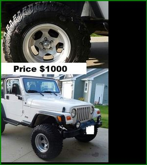 $1000 Jeep Wrangler for Sale in St. Louis, MO