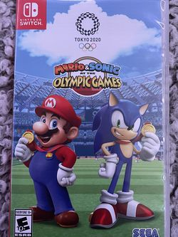 Mario And Sonic Olympic Games- Nintendo Switch Game for Sale in Hollywood,  FL