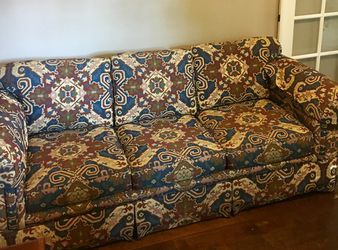 Retro queen sleeper sofa for Sale in Franklin,  TN