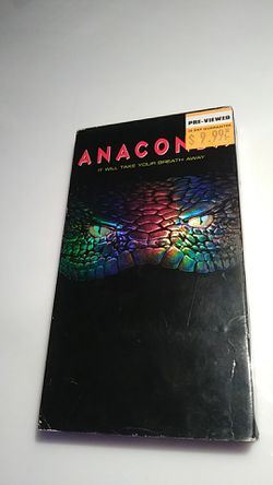 Anaconda VHS tape for Sale in Tracy,  CA