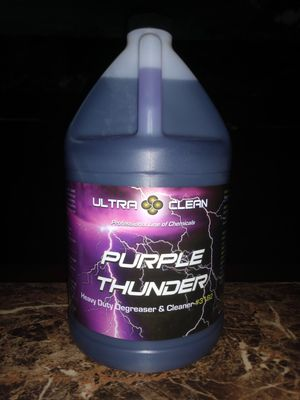 Purple Thunder HD Concentrated Cleaner Degreaser For Professionals for Sale in Fullerton, CA
