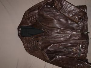 Burgundy Leather Jacket for Sale in New York, NY