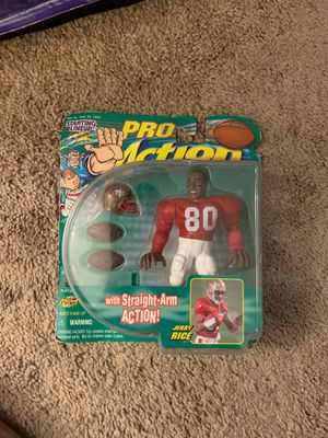 Jerry Rice Starting Lineup Pro Action Figure for Sale in Tempe, AZ