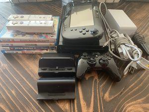 Wii U Conole Bundle 32GB, 5 games, 3 controllers for Sale in La Puente, CA