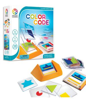 SmartGames Color Code Skill-Building Puzzle Game for Ages 5 - Adult for Sale in Hillsboro, OR