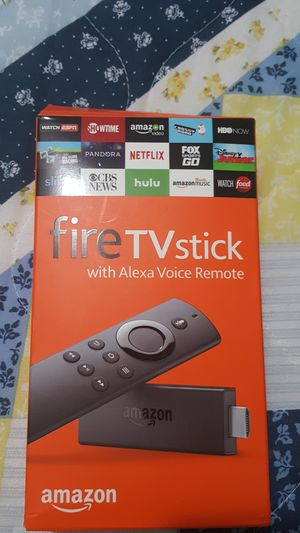 Fire tv stick with Alexa voice remote for Sale in Salt Lake City, UT