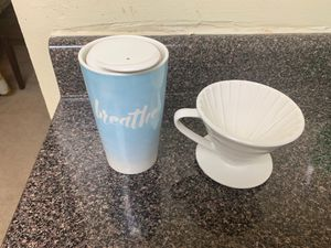 To-go mug and coffee filter for Sale in Silver Spring, MD
