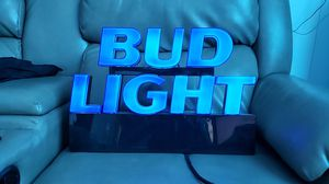 Bud light sign for Sale in Malmstrom Air Force Base, MT