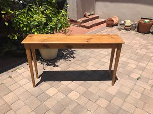 Pine Console Table for Sale in Los Angeles, CA