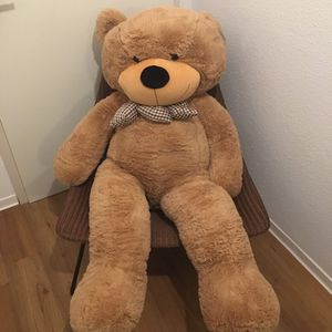 NEW Giant Brown Teddy Bear Huge Stuffed Toy Valentine Gift Birthday Girls for Sale in Henderson, NV