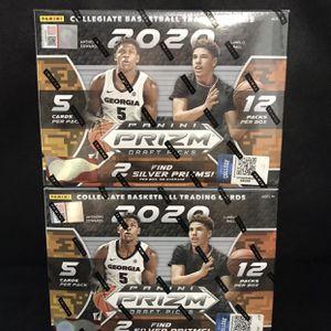 2020 Panini Prizm Draft Picks Basketball Mega Box 🏀 LOT OF 2 MEGA BOXES! 🏀 for Sale in Tacoma, WA