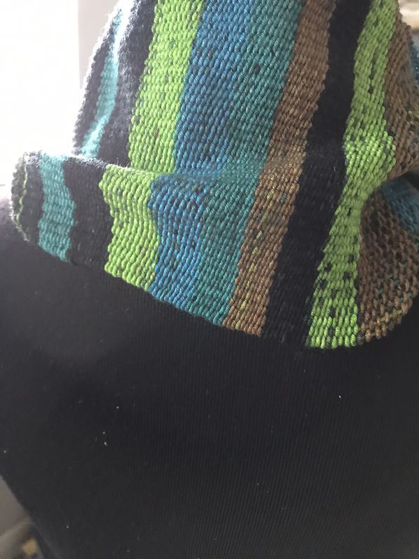 Handcrafted scarf