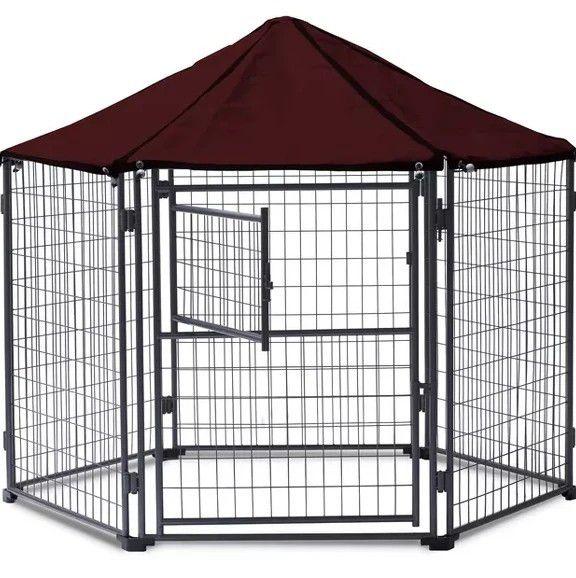 Dog kennel gazebo 5.5 ft like new