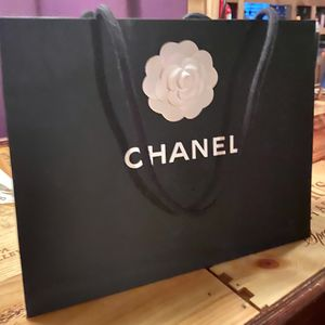 CHANEL Boutique Shopping Bag//Ribbons/Two (2) Jewelry Boxes & Felt Pouches for Sale in Houston, TX
