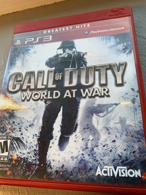 Call of Duty: World at War for Sale in El Cajon, CA